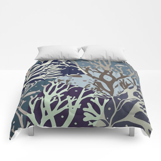 Under the Sea - Abstract Comforters