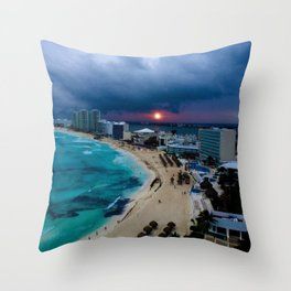 Cancún, Mexico Throw Pillow