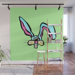 Rabbit - The Worried Bunny Wall Mural