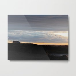 The Edge of Land Metal Print