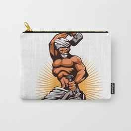 Sculptor Hammer Chisel Retro Carry-All Pouch