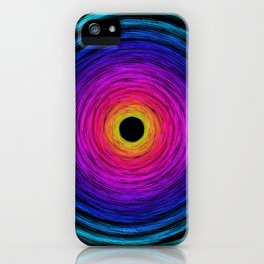 Rainbow Tornado iPhone Case