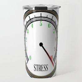 Stress Meter Travel Mug