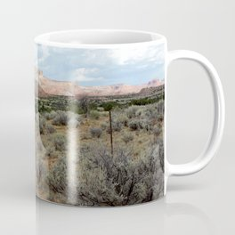 Mesas of New Mexico, on the Road from Chama to Santa Fe Coffee Mug