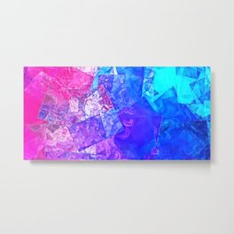 Textured Paper Overlay Metal Print