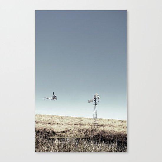 Dustoff downunder - Villenvue, QLD Canvas Print
