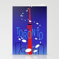 toronto Stationery Cards featuring Toronto by Maygen Kerrigan