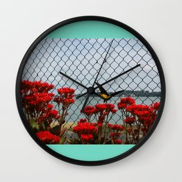 JUST PASSING BY Wall Clock