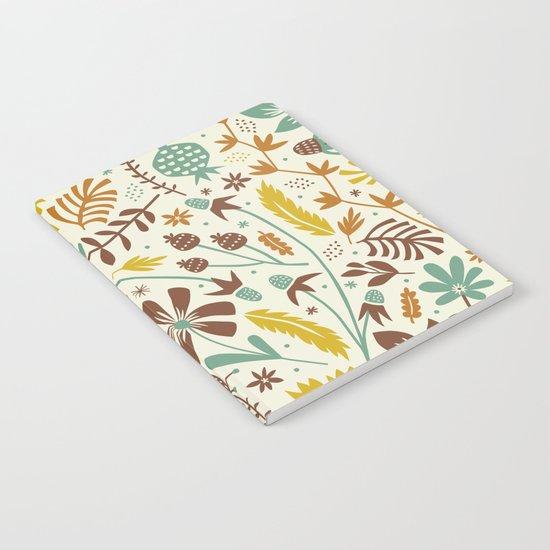 Autumn Blooms Notebook