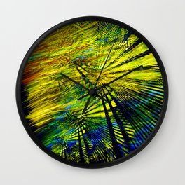 Colorful Reflections Wall Clock