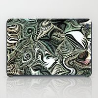 novelty iPad Cases featuring Octopod Party by Moody Muse