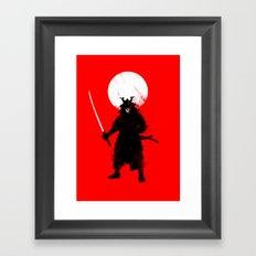 Ghost Samurai Framed Art Print