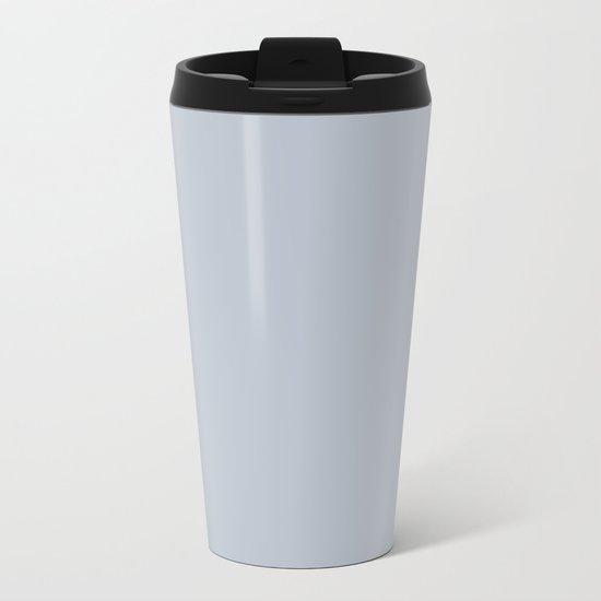 Bluebell Blue Metal Travel Mug