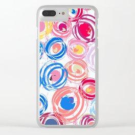 Geometric Art - 12 Clear iPhone Case