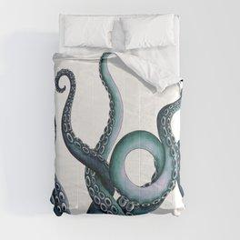 Kraken Teal Comforters