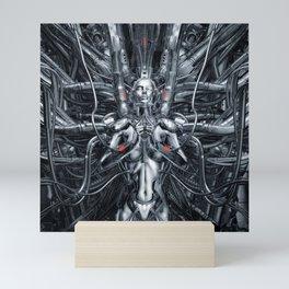Maiden In The Machine Mini Art Print
