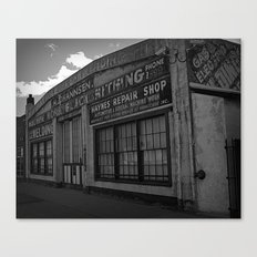 Old Repair shop Canvas Print