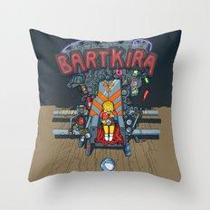 Bartkira throne Throw Pillow