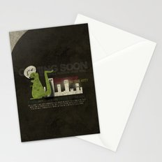 Dinosaur in the City Stationery Cards