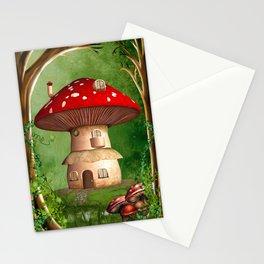 Dwarf Land Stationery Cards