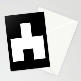 The Baxter's balaclava glyph on Black Mirror Stationery Cards