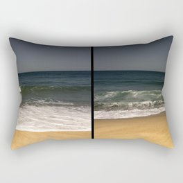 Breathing In Breathing Out Rectangular Pillow