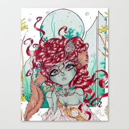 ShelledArvia Canvas Print