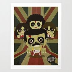 queen zombie 2 Art Print
