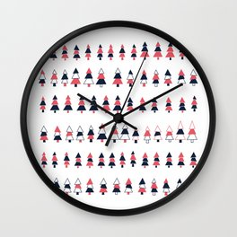 Tree Maddness Wall Clock