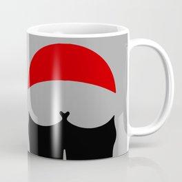 Buttocks butt ass anus traffic sign symbol  Coffee Mug