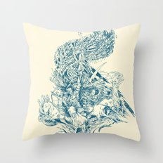 Horsemen of the Apocalypse Throw Pillow
