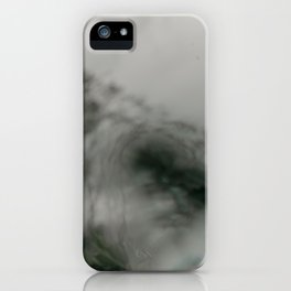 Stormy Sea Abstract Film iPhone Case