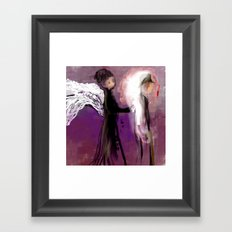 Healing Hands Framed Art Print