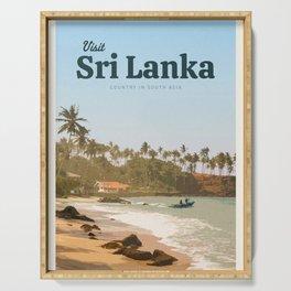 Visit Sri Lanka Serving Tray