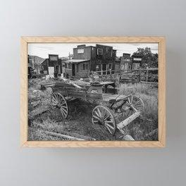 Old Virginia City Mining Town, Nevada Framed Mini Art Print