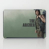 archer iPad Cases featuring The Archer by Valerie Canizales