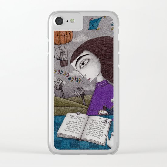 November Stories Clear iPhone Case