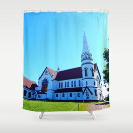 St. Mary's Church front view Shower Curtain