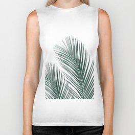 Tropical Palm Leaves #2 #botanical #decor #art #society6 Biker Tank