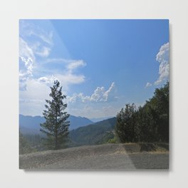 Gorgeous view of the Hayfork valley.... Metal Print