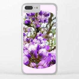 Mountain Laurel Window Clear iPhone Case