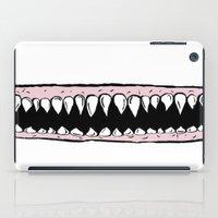 teeth iPad Cases featuring Teeth. by Ninapedia