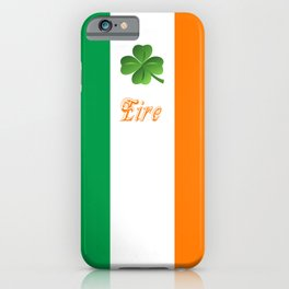 Eire iPhone Case