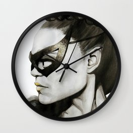 Eartha Kitt IS Catwoman Wall Clock