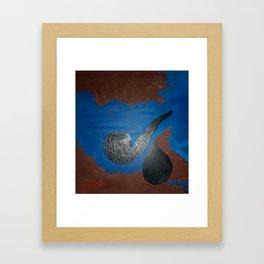 Kixima and the Apache teardrop Framed Art Print