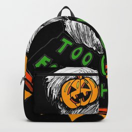 Too Ghoul for School- Green Backpack