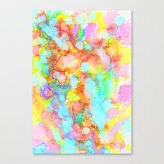 unicorn marble Canvas Print