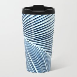 Palm leaf - oceanic Travel Mug