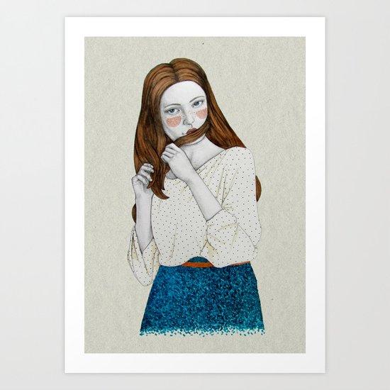 Clementina Art Print