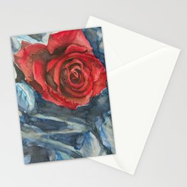 Water Color Rose Study  Stationery Cards